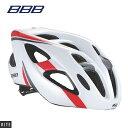 【BBB】ヘルメット KITE カイト ホワイト/レッド M【154618】L【154619】