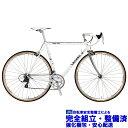 (選べる特典付き!)ロードバイク 2021 BASSO バッソ GAP 1977 ギャップ 1977 ホワイト 16段変速 クロモリ