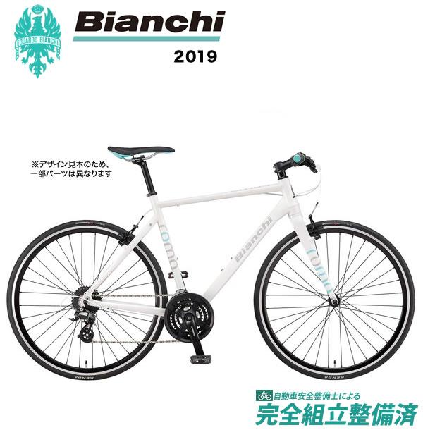クロスバイク 2019年 BIANCHI ビアンキ ROMA4 ローマ4 White...