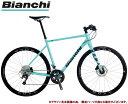 クロスバイク 2020 BIANCHI ビアンキ ROMA 1 DISC ローマ1ディスク CK16 20段変速 SHIMANO TIAGRA 700C 油...