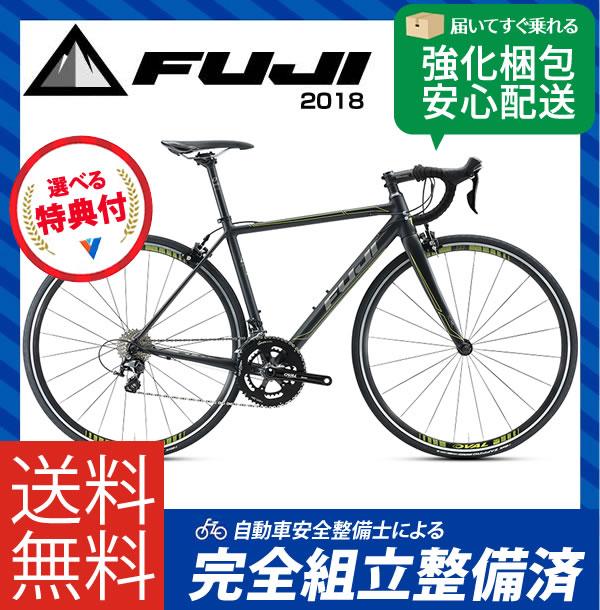 (特典付)ロードレーサー 2018年モデル FUJI フジ ROUBAIX 1.3 ...
