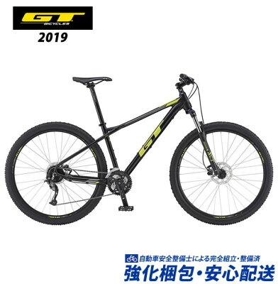 (特典付)マウンテンバイク 2019 GT AVALANCHE SPORT アバランチェスポーツ ブラック