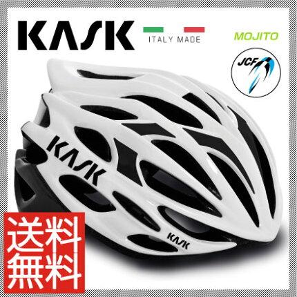 【予約受付中】【送料無料】16KASKカスクHelmetヘルメットMOJITOモヒートホワイトブラックM【2048000000338】L【2048000000345】XL【2048000001396】【JCF公認モデル】