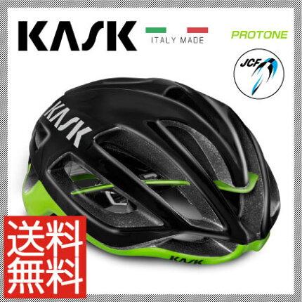 【予約受付中】【送料無料】16KASKカスクHelmetヘルメットPROTONEプロトーン【JCF公認】ブラックライムM【2048000000871】L【2048000000888】