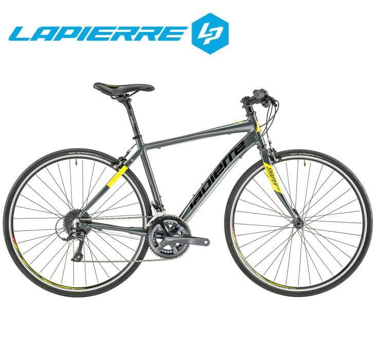 クロスバイク 2020 LAPIERRE ラピエール SHAPER 200 シェイパー 200 SHIMANO SORA 18段変速 700C アルミ