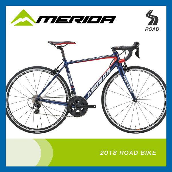 (送料無料)(特典付)ロードレーサー 2018年モデル MERIDA メリダ SCU...