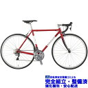 (選べる特典付)ロードバイク 2020 RALEIGH ラレー CRF Carlton-F カールトンF マルーンレッド SHIMANO 105 2×11SP 700C クロモリ