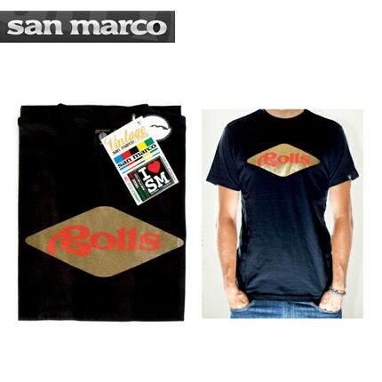 【sanmarco】サンマルコWEARウェアROLLST-shirtロールスTシャツ