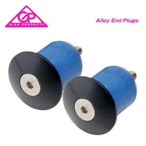 (GIZA)ギザ BARENDCAP バーエンドキャップ Alloy End Plugs アルエンドプラグ ブラック(2個セット)(4935012314073)