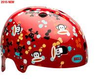 ベル(BELL)ヘルメットセグメントJrレッドポールフランクペイントボール+今ならベル用ヘルメットライトプレゼント!【送料無料(北海道・沖縄県除く)!クレジットOK!セール期間限定】BELLSEGMENTキッズ・子供用ヘルメット