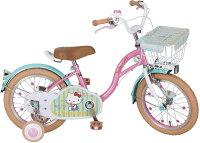 M&M(エムアンドエム)ハローキティF型16インチ自転車141180【クレジットOK!】M&M子供用自転車
