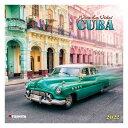 2022 カレンダー 壁掛け CUBA キューバ TUSHITA 写真 風景 インテリア 令和4年暦