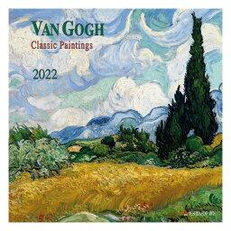 2022年 カレンダー 壁掛け VAN GOGH Classic Paintings フィンセント ファン ゴッホ TUSHITA アート 名画 インテリア 令和4年暦