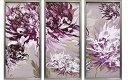 【送料無料】サリー・スカファーディ 紫の魅惑 額付きポスター3枚セット...