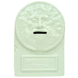 ジョーク 面白 プレゼント グッズ 通販真実の口バンク 陶器製 面白雑貨 貯金箱 食器ギフト通販...