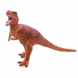 "Big size figure soft vinyl model • Tyrannosaurus ""red"" ☆ dinosaur toy store-fs3gm"