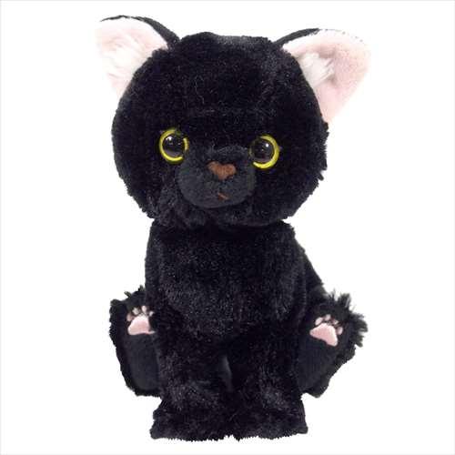 ぬいぐるみS ぬいぐるみ Kitten 黒猫 ネコ サンレモン 16.5cm CAT 猫 雑貨画像