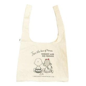 棉布購物袋購物手提袋史努比回花生神翁日本 42 × 33 × 15 釐米的購物袋存儲所有點 5 x 05P19Dec15 12 / 24 (星期四) 2:00
