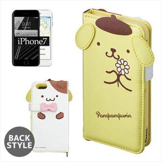 IPhone 7 模切蓋 iPhone 案例 7 絨球布丁松餅三麗鷗 suncrest 4.7 英寸型號 iPhone 7 護封存儲所有點 / 10 x 10 6 午夜 2 上午
