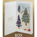 BOXポップアップカード クリスマスカード ルイーズ スキーグローブ APJ Xmas 封筒付き ギフト 雑貨 メール便可 ベルコモン