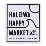 ダイカット シール HALEIWA HAPPY MARKET 防水 ステッカー HHM-033 ハレイワ ゼネラルステッカー おしゃれ 耐光 耐水 コレクション メール便可