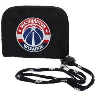 ナイロン ウォレット 2つ折り財布 ワシントンウィザーズ NBA WIZARDS サンアート 男子向け ギフト 雑貨 バスケットボール