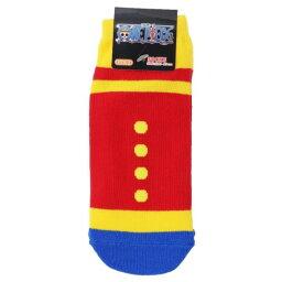レディース ソックス ルフィコスチューム ワンピース 女性用 靴下 ONE PIECE スモールプラネット 23-25cm プチギフト アニメ メール便可