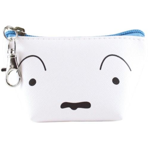 產品詳細資料,日本Yahoo代標|日本代購|日本批發-ibuy99|包包、服飾|包|箱包配件|三角 ミニポーチ コインケース クレヨンしんちゃん シロ フェイス ティーズファクトリー かわいい…