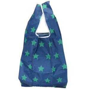 POCKET STORAGE ECO BAG 折りたたみ ショッピングバッグ エコバッグ 星 サンタン お買い物かばん かわいい メール便可 eccp 100円クーポン