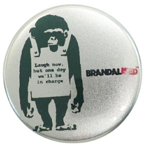 バッグ用アクセサリー, バッグチャーム 44mm Do Nothing-Monkeysign Banksy ART