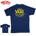 【SALE】【VANS(バンズ)】プリントTシャツ【NAVY・ネイビー・紺】カリフォルニア USA【S/M】 西海岸 アメカジ サーフ【メンズ】