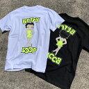 【再入荷】限定カラー【あす楽】BETTY BOOP プリントTシャツ【ネオンイエロー/蛍光/NEON】ベティ アメカジ サーフ 西海岸 ストリート【M/L/XL】
