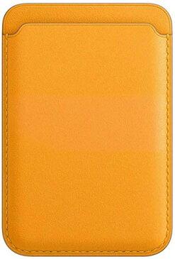 リスカイ MagSafe iPhone用 レザーウォレット カードケース iPhone12 iPhone12mini iPhone12pro iPhone12 promax マグセーフ マグセ