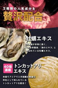 アルギニン/亜鉛/トンカットアリ/牡蠣エキス/マカ/シトルリン/タウリン/7種の嬉しい人気成分配合