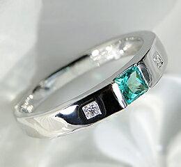 pt900 プリンセスカット エメラルド リング/ 送料無料 品質保証書付 プラチナ タンクリング 指輪 誕生石 5月 レディース ジュエリー ギフト プレゼント emerald princesscut platinum ring 【楽ギフ_包装】【楽ギフ_名入れ】