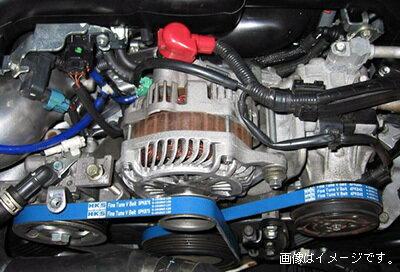 エンジン, ファンベルト  HKS FINE TUNE V-BELT PS Belt V NISSAN S14,S15 SR20DE(T) 9310-0208 (24996-AK001)
