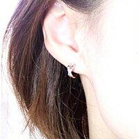 プラチナ900×ダイヤモンド・Kissピアス品番N-0443営業日前後の発送予定