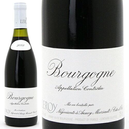 [2000] ブルゴーニュ ルージュ -液面バラつき- 750ml (ルロワ)赤ワイン^B0L...