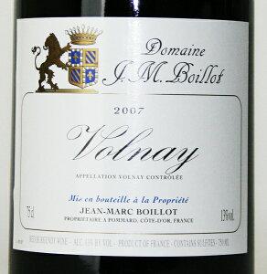 [2007] ヴォルネー 750ml (ジャン・マルク・ボワイヨ)赤ワイン【コク辛口】【楽ギフ_のし...