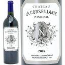 [2007] シャトー ラ コンセイヤント 750ml(ポムロル)赤ワイン【コク辛口】【ワイン】【GVA】【AB】^AMSL01A7^