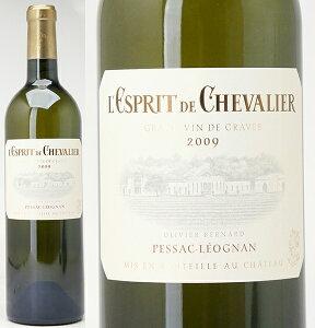 [2009] レスプリ・ド・シュヴァリエ ブラン  750ml (ペサック・レオニャン)白ワイン【コ...