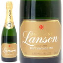 [555]【アウトレット】[1999] ランソン ゴールド ラベル ブリュット ヴィンテージ 箱なし ラベル傷(小)、裏ラベルずれ、擦れ 750ml並行品 (シャンパーニュ)白【シャンパン コク辛口】【ワイン】【GVD】^VALS36AA^