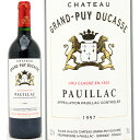 [1997] シャトー グラン ピュイ デュカス 750ml (ポイヤック第5級) 赤ワイン【コク辛口】【ワイン】【GVA】【AB】^ABGD0197^