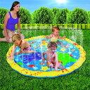 VeroMan 幼児用 プール 直径100cm 噴水 ホース...