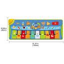 VeroMan 子供 音楽カーペット ミュージックマット ピアノ 触って音出す 知育おもちゃ 10鍵盤 滑り止め 録音 音量調整 2