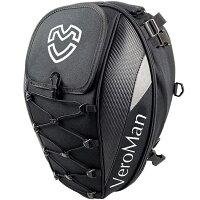 VeroMan バイク用 シートバッグ リアボックス トランク 防水 軽量 大容量 固定ベルト付き 取り付け簡単 ヘルメット収納可