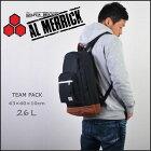正規品ALMERRICK【アルメリック】TEAMPACKバックパックカラー/BLACK