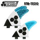 チャネルアイランズ(アルメリック)RTM-TECH2(TRI)BLUEMサイズ2TAB(FCS)トライフィン