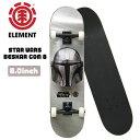 スケートボード コンプリート エレメント ELEMENT STAR WARS BESKAR COM 8 スケボー 完成品 乗り出しOK あす楽