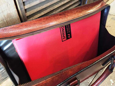 【青木鞄LUGARD(ラガード)G3】牛革シャドー仕上げビジネスブリーフケース/トートバッグ(5228)メンズ
